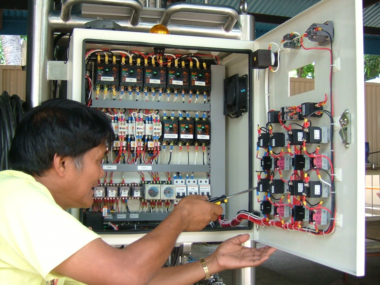 Enchanting plc panel wiring elaboration electrical and wiring magnificent electrical control panel wiring ensign wiring diagram asfbconference2016 Images
